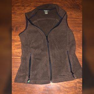 Eddie Bauer Zip Up Fleece Vest